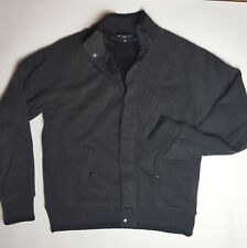 """M&S Blue Harbour Grey Marl Knitted Fleece Lined  Cardigan Jacket Small Chest 37"""""""