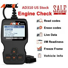 Ancel AD310 EOBD OBD2 Scanner Diagnostic Tool Car Check Engine Fault Code Reader