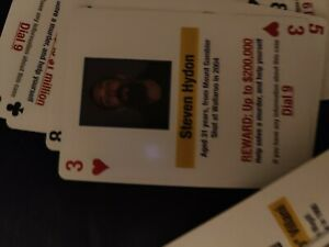 Jail Cold Case Murder Playing Cards