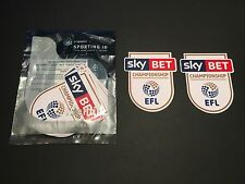 Sky Bet EFL Championnat 16/17 Player Taille Chemise À Manches Patches-Sporting ID