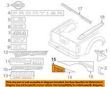 NISSAN OEM 12-13 Frontier Pickup Bed-Decal Sticker Right 99098ZL56C
