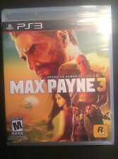 MAX PAYNE 3 NEW SONY PS3 Playstation 3 Game