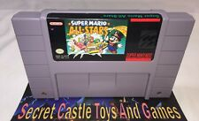 SUPER MARIO ALL STARS -SNES- Super Nintendo - Clean Tested 30 DAY GUARANTEE !!!