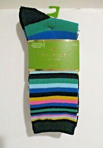 NWT Kate Spade New York Women's Crew Socks 3 Pairs One Size (4-10)