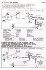 Twin Air Horns (Airhorns) Motorcycle-Bike-Custom-Loud Horns