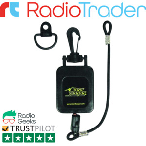 Gear Keeper Retractable Microphone Holder For CB Radios and Two Way Radios RT4-4