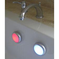 2x LED Schwimmlicht Wellness Badewannen Leuchten Licht Leuchte Teichlicht