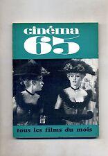 CINÈMA 65-Le Guide Du Spectateur N. 101#Federation Francaise des Cinè Clubs 1965