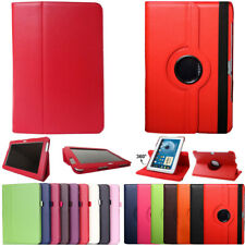 360 Rotating Folio PU Leather Case Cover Stand Fr Samsung Galaxy Note 10.1 N8000