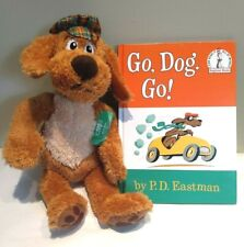 Dr. Seuss Go Dog Go! Kohls Plush with Tags and Kohls Hard Cover Book