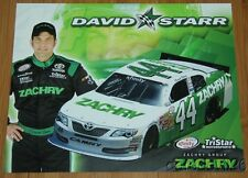 2015 David Starr Zachry Toyota Camry NASCAR Xfinity postcard
