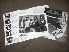 ALCATRAZZ Dangerous Games Press Kit With 8x10 Promo Photo