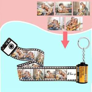 Personalised Photo Film Roll Keychain/Camera Roll Keychains/Vintage Style