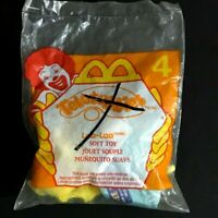 Teletubbies McDonalds Happy Meal Laa Laa Soft Toy Clip On Sealed From 2000