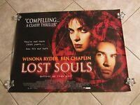 Lost Souls movie poster Winona Ryder, Ben Chaplin