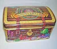 1996 Wolfgang Candy 75th Anniversary Dome Top Tin Box