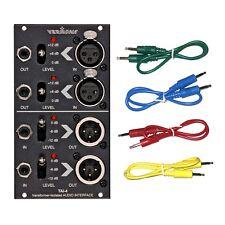 Vermona TAI-4 Transformer-Iso Audio Interface Eurorack Module COLOR CABLE KIT
