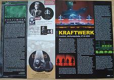 2 Seiten Berichtesammlung  __  KRAFTWERK  __  Magazinseiten Collection