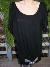 Crossroads Short Sleeve Tunic Regular Tops & Blouses for Women