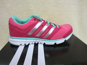 New Adidas Falcon PDX xJ Girls Size 4 Y Youth Running Shoes Mint Pink C76049