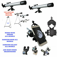 "120X TELESCOPE FULL 57"" TRIPOD LUNAR AND FOR STAR OBSERVATION + SMARTPHONE MOUNT"