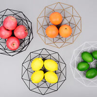 Fruit Snack Basket Utensil Metal Creative Vegetable Iron Wire Stand Roll Holder