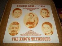 Booster Band 1954 The Kings Witnesses Rare Stereo Christian Xian Gospel