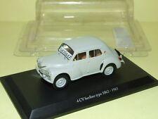RENAULT 4CV TYPE 1062 1961 La derniere fabriqué ELIGOR