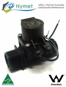 "Micro Irrigation Solenoid Valve 3/4""BSP in-3/4"" BSP out 24VAC 20LPM"