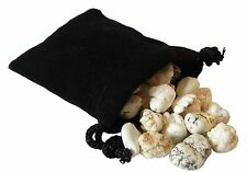 SHARING STONES - 2oz (60-65) MAGNESITE XS Tumbled Crystals with Pouch & Card