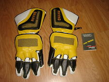 NEW Schoeller RHYNO w/Kevlar Mens XSmall Yellow/Black Racing Gloves