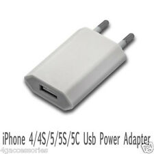 2-Pin EU USB Power Adaptor Mains Charger Travel Europe Mobile Phone