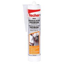 Fischer Bausilicon Premium 310 ml DBSA TP transparent Bausilikon Dichtmasse