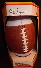 VINTAGE 1970'S OJ SIMPSON WILSON AUTOGRAPH SERIES FOOTBALL NEW IN BOX