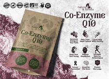 Co Enzyme Q10 300mg Vegan Capsules - 100% Pure and Natural Highly Absorbable
