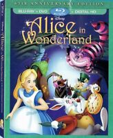 Alice in Wonderland (Blu Ray + DVD) NEW! (No Digital) W/ SLIPCOVER *FREE SHIP*