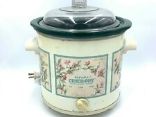 Rival Crock Pot 3.5 QT 3150/2 Electric Slow Cooker Server Pot with Lid