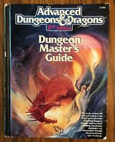 Adv Dungeons & Dragons 2nd Ed Dungeon Master's Guide 1st print 1989 TSR #2100 HC