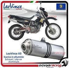 Leovince X3 Enduro Pot D'Echappement aluminium Kawasaki KLR 650 1997>2013