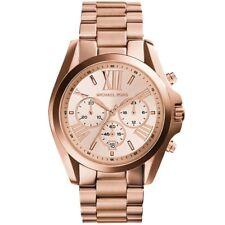 Michael Kors Bradshaw MK5503 Chronograph Rose Gold Tone Ladies Wrist Watch
