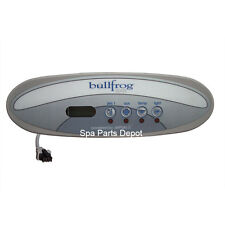 Bullfrog Spa Control Panel, Tadpole 4 Button