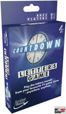 Countdown Letters Travel Card Game