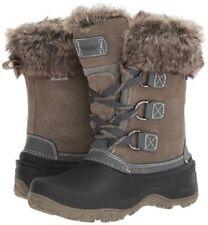 Khombu Grey Slope Women's Ladies Waterproof Winter Boots Size 10, New no box