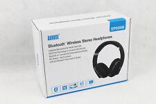 August EP650B - Bluetooth v4.1 & aptX Stereo Over Ear Kopfhörer, NFC, Schwarz