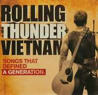 ROLLING THUNDER VIETNAM: Songs That Defined A Generation [Veterans/1960s] CD