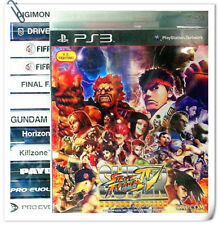 PS3 Super Street Fighter IV Arcade Edition SF4 SONY PlayStation Fighting Capcom