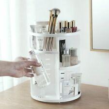 Rotating Makeup Organizer Brush Holder Jewelry Case Cosmetic Storage 360-degree