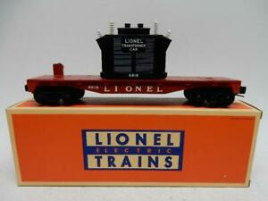 LIONEL 6818 FLAT CAR WITH TRANSFORMER, C-9  MINT IN ORIGINAL BOX