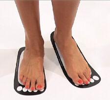 Spray Tan Stick on Feet Tanning Sticky Feet 50 pairs Cardboard Free Postage
