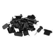 15set antipolvere micro USB cuffia copertura della spina tappo per iPhone5 5S HK